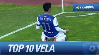 Top 10 Goals - Carlos Vela - 201314 - HD