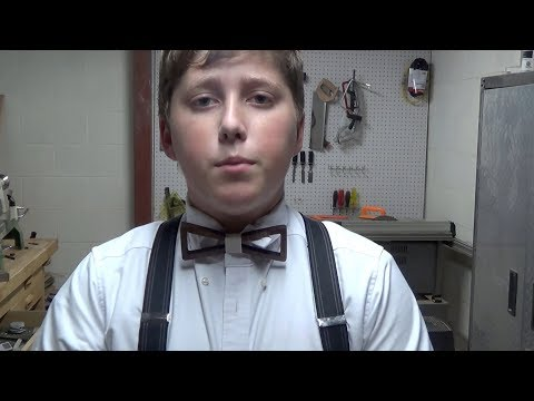 The Making of a Wooden Bow Tie