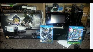 Monster Hunter 3 Ultimate Limited Edition Wii U Bundle Unboxing