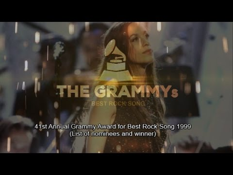 BEST ROCK SONG | 41st GRAMMYs 1999 🏆 (List of nominees and winner)