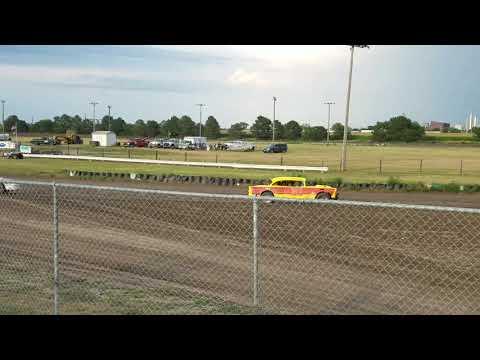 Egge Racing memorial lap for Eric Steinmark July 29th, 2018 at Dawson County Raceway, Lexington, NE.
