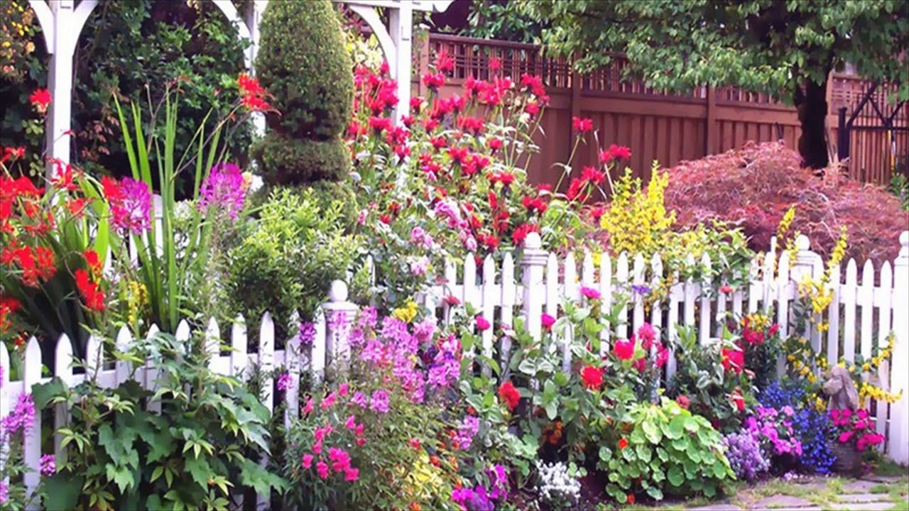 English Garden Ideas For Small Spaces YouTube
