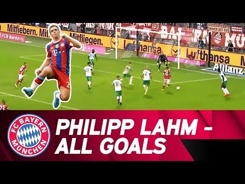 All Philipp Lahm goals at FC Bayern! ⚽ | #DankePhilipp