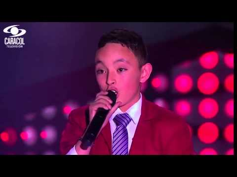 Juan Sebastián cantó 'La Bikina' de Rubén Fuentes - LVK Colombia- Audiciones a ciegas - T1