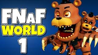 FNAF World #1 - OFFICIAL FIVE NIGHTS AT FREDDY'S RPG! // FNAF World Gameplay