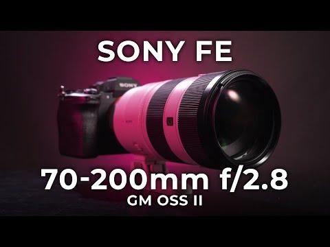 Sony Releases FE 70-200mm f/2.8 GM OSS II Lens; Learn More Info...
