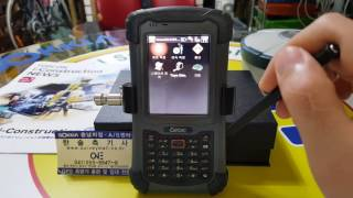 SOKKIA 측량기 GPS 사용방법 동영상