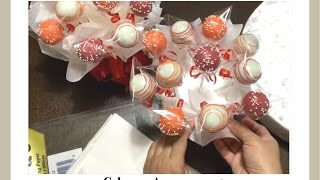 how to roll cake pops
