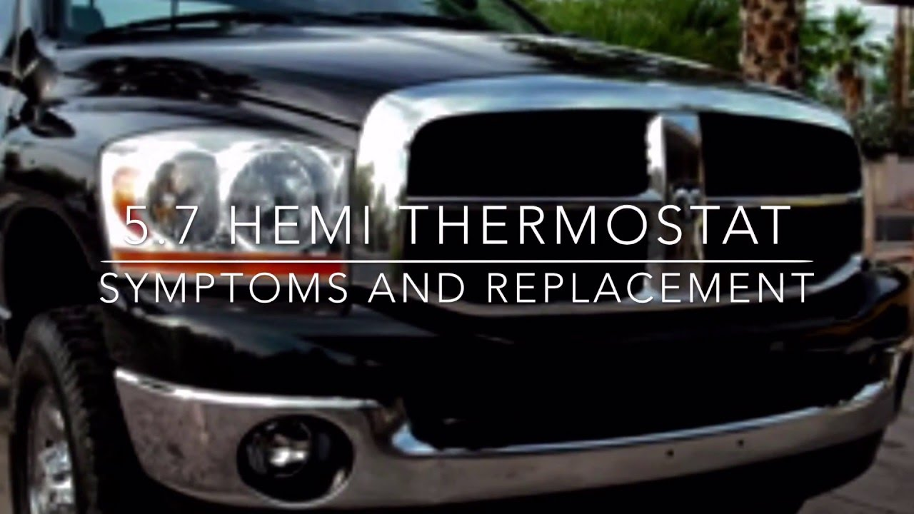 medium resolution of 5 7 hemi cooling system thermostat diagnosis