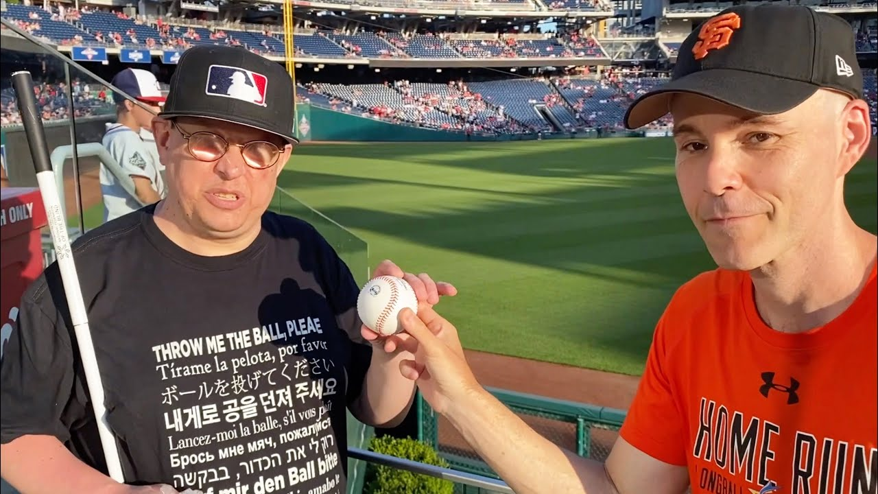 Meet the BLIND SUPERFAN who's been to 27 MLB stadiums