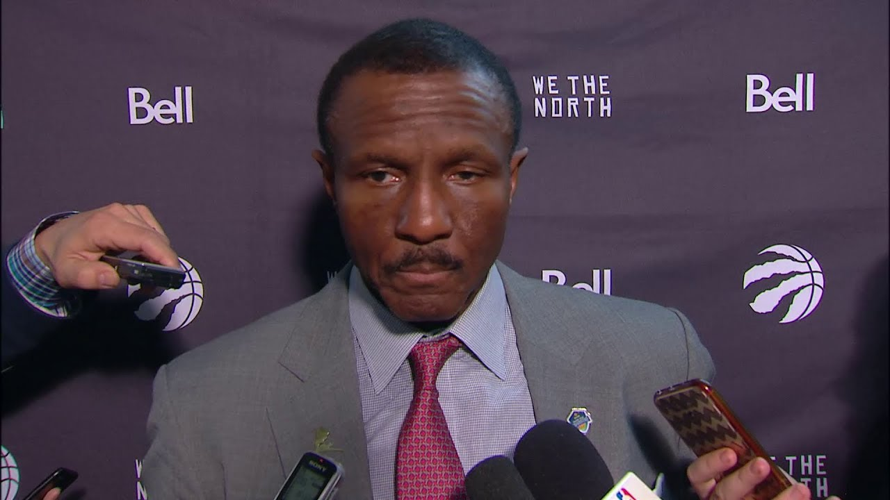 Raptors Post-Game: Dwane Casey - November 22, 2017 - YouTube