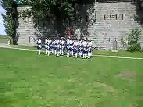 Compagnie Franche De La Marine 2008-Citadelle Québec Part 11