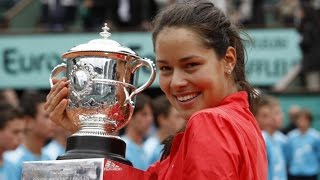Five Tennis Players that Retired Way too Soon, Featuring Bjorn Borg, Ana Ivanovic and Justine Henin