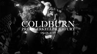 COLDBURN - Love Left Me - (LIVE AT Predigerkeller, Erfurt 09.01.2015)