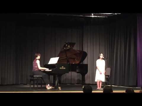 Maggie's Recital Piece  Above All by Michael W Smith
