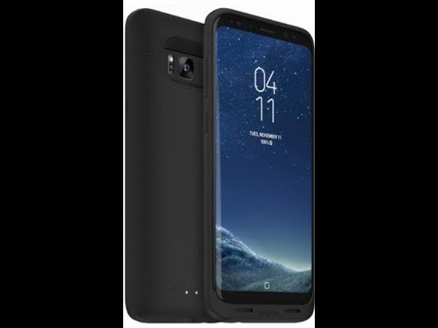 outlet store d541c 2d592 mophie - Juice Pack External Battery Case for Samsung Galaxy S8+ - Black
