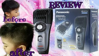Panasonic ER217 Review / How To Cut Hair At Home