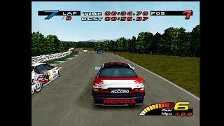 TOCA Touring Car Championship Gameplay - Oulton Park - Race 1 - Honda Accord