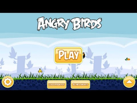 Игра Angry Birds для Windows Phone