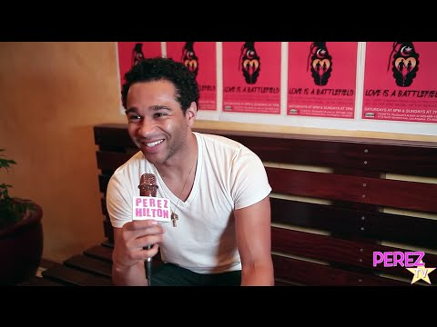 Corbin Bleu Talks His New Romeo Role In Love Is A Battlefield With Ashley Argota & Jordan Rodrigues!