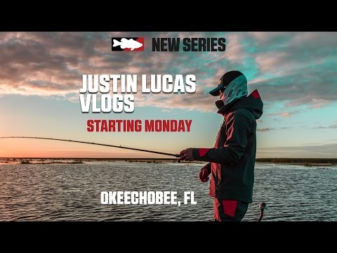 Justin Lucas Fishing with Abu Garcia/Berkley on Lake Okeechobee VLOG Series Teaser