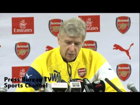 Arsene Wenger pre West Brom vs Arsenal