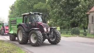 Przejazd maszyn rolniczych