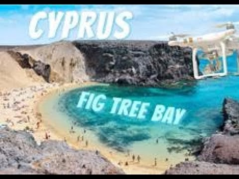 Cyprus footage from drone 2017 (Fig tree bay) 4k
