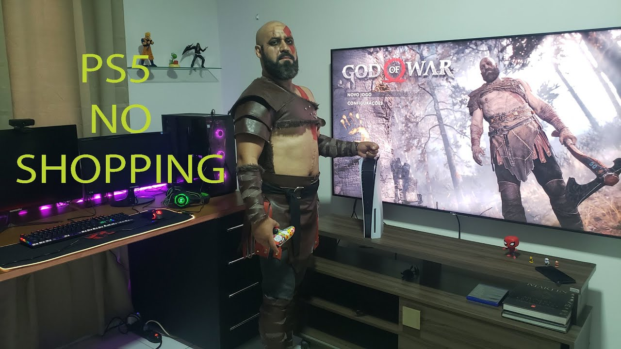 KAPITULINO - Buscando o PLAYSTATION 5 no SHOPPING de KRATOS