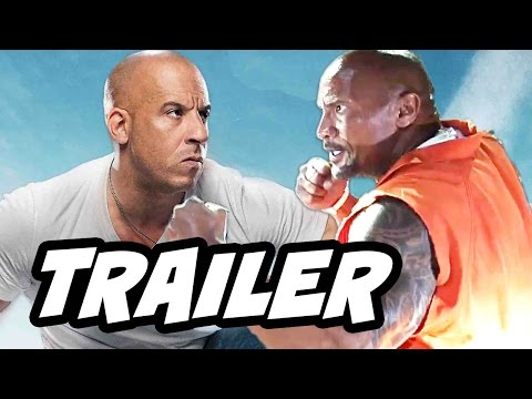 Thumbnail: Fast and Furious 8 Trailer Vin Diesel vs The Rock Breakdown