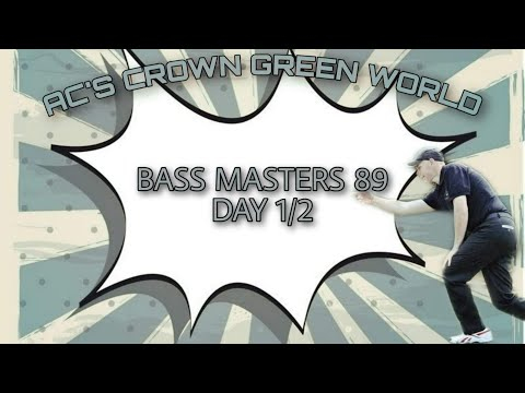 Bass Masters 1989 Day 1/2