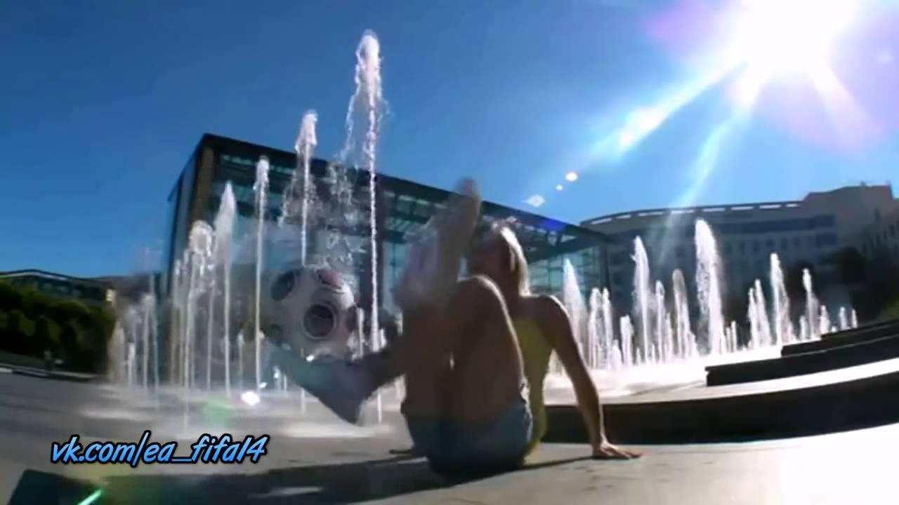 Sexy Girl football player, freestyle soccer vk com ea fifa15 mix