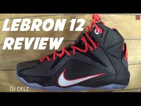 timeless design 03fc2 cbd51 Nike Lebron 12 Court Vision Sneaker With Dj Delz Including 3M Test