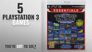 Top 10 Playstation 3 Games [2018]: SEGA Mega Drive Ultimate Collection- Essentials (PS3)