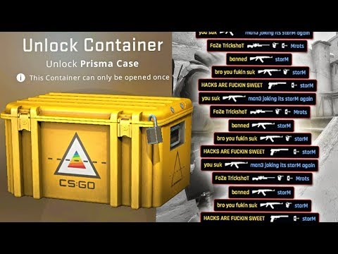 opening a $10 csgo case every time i die.