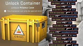 opening a $10 csgo case every time i die....