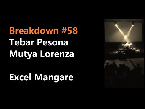 Breakdown #58 Tebar Pesona (Mutya Lorenza) - Excel Mangare