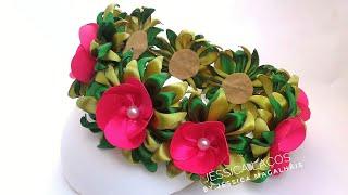 Diy Coroa de Flores da Moana