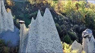 Les gorges de la Borgne - Les pyramides d'Euseigne