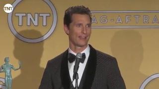 Matthew McConaughey   Press Room   SAG Awards