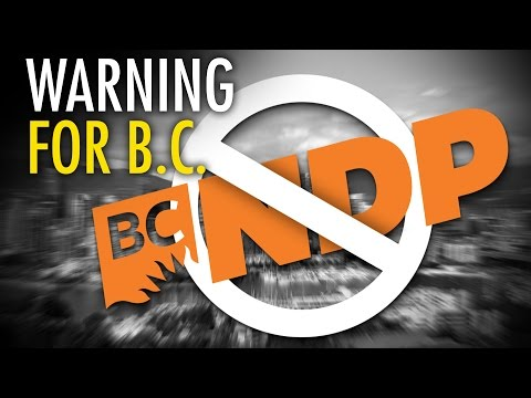 Warning to BC: THIS is your province on NDP