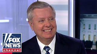 Lindsey Graham reacts to Trump's State of the Union