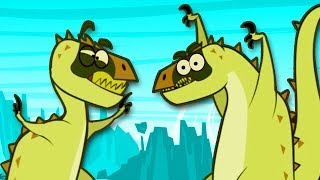 Funny Dinosaur Cartoons for Children Full Episodes 2017 | Dinosaur Videos for Kids 2017