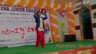 Harshini Naidu dance performance