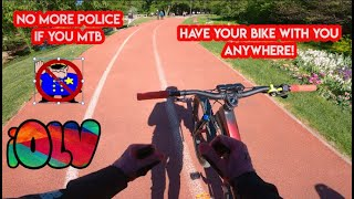 THIS IS THE BËST WAY TO GET RID OF POLICE WHEN BIKING