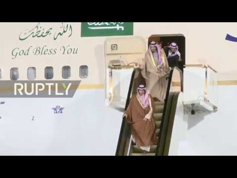 Russia: Saudi King arrives in Moscow for historic state visit