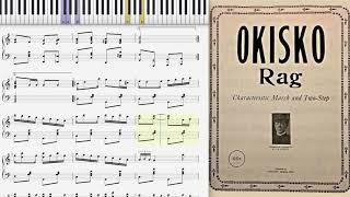 Okisko Rag by H. Stoudt (1915, Ragtime piano)