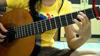 Ost. Winter Sonata: Yiruma - My Memory (Guitar Cover)