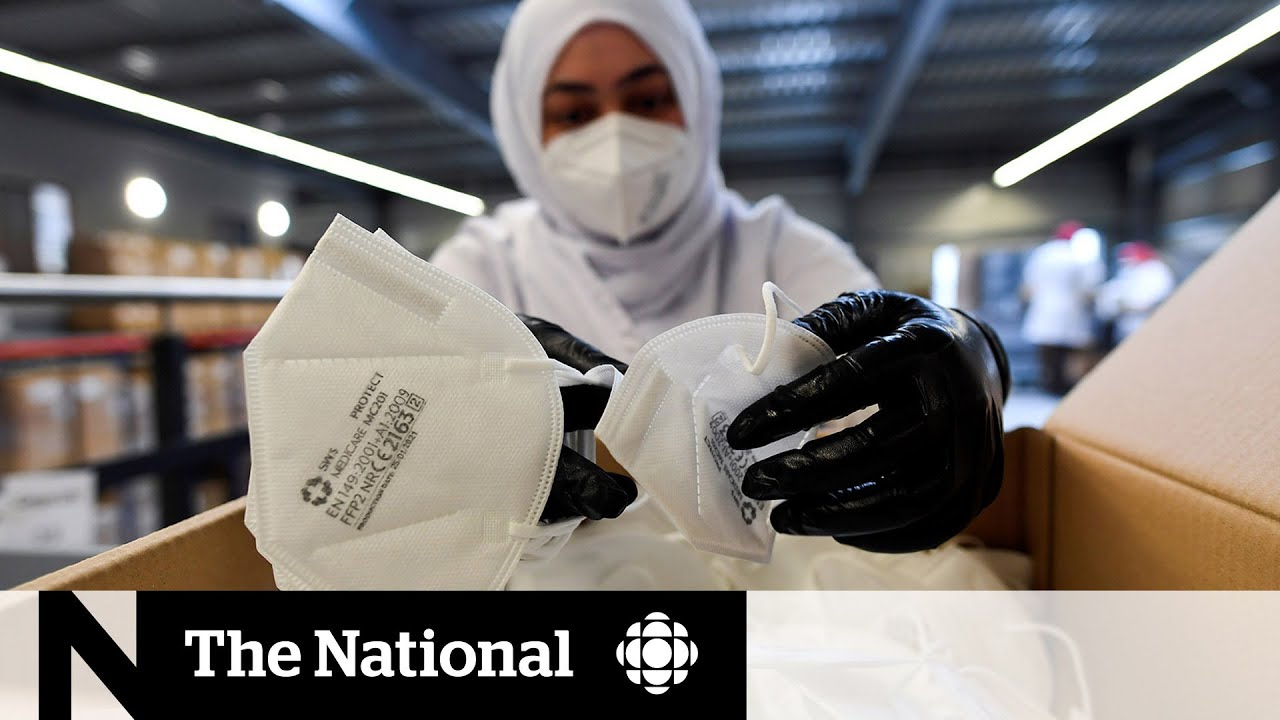 Download Should Canadians be wearing N95-style masks?