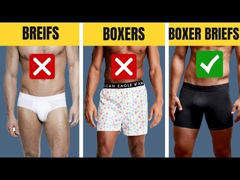 The BEST Underwear For Your Body Type | Boxers, Briefs, Trunks, Boxer Briefs